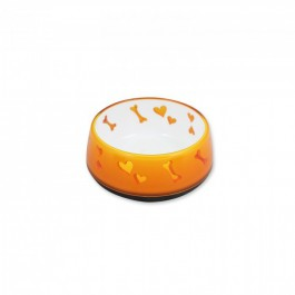 Comederos Dog Love Plásticos -Naranja S-300ml