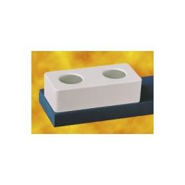 Comederos Dog Love Plásticos -Azul S-300ml