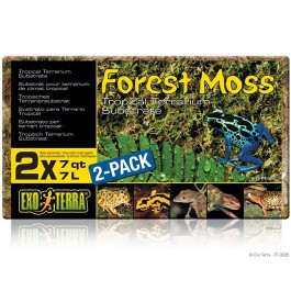 Exo Terra Forest Moss Sustrato Musgo, 14 L