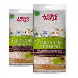 LIVING WORLD CORN COBS FRESA 10 LT