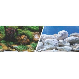 MARINA 3D Jardin Acuatico/Piedras 47,5cm X 7,6M